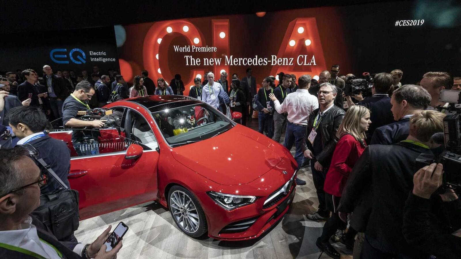 Ảnh thực tế Mercedes-Benz CLA 2020 thế hệ hoàn toàn mới tại Mỹ - Hình 24