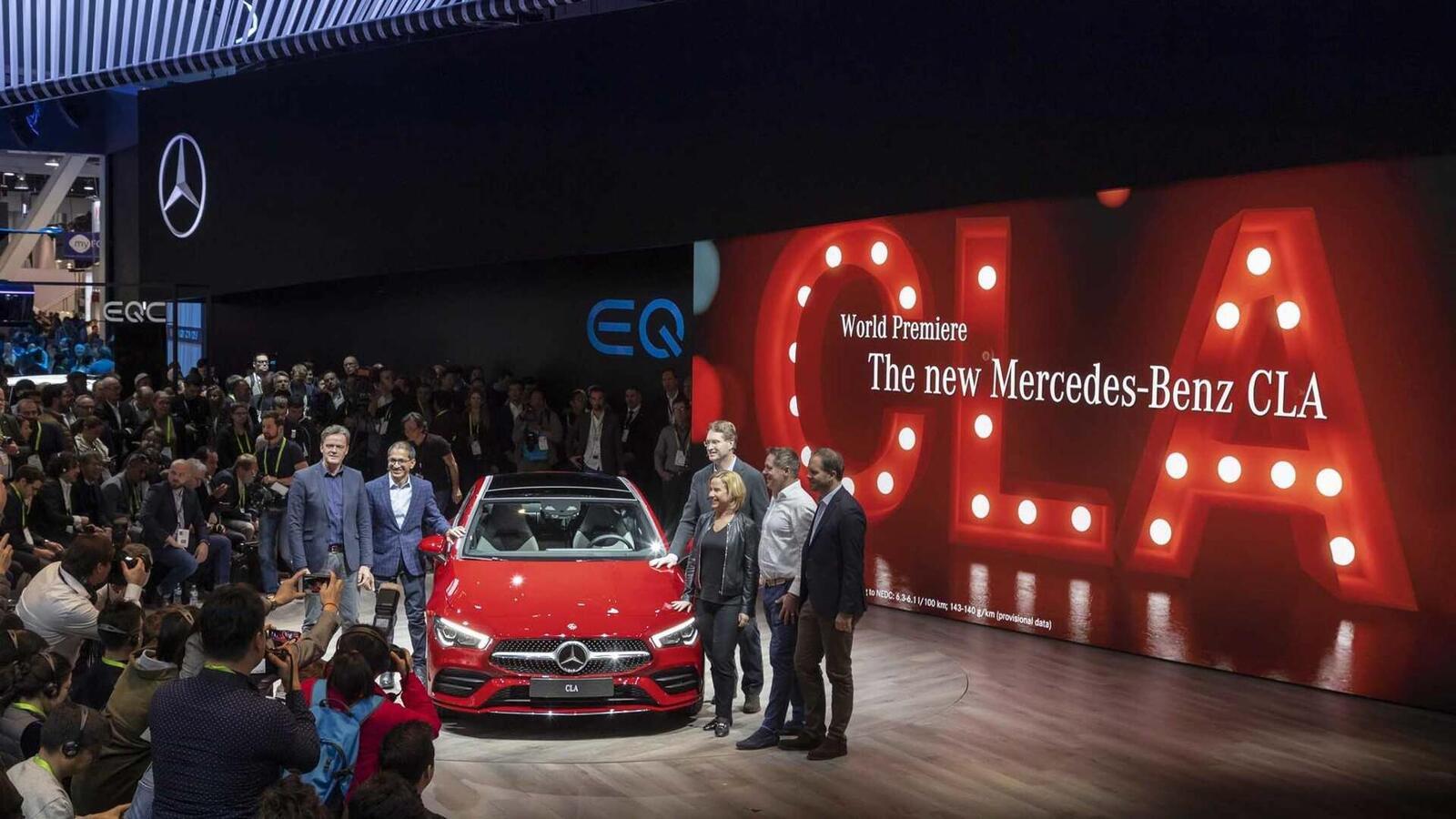 Ảnh thực tế Mercedes-Benz CLA 2020 thế hệ hoàn toàn mới tại Mỹ - Hình 25