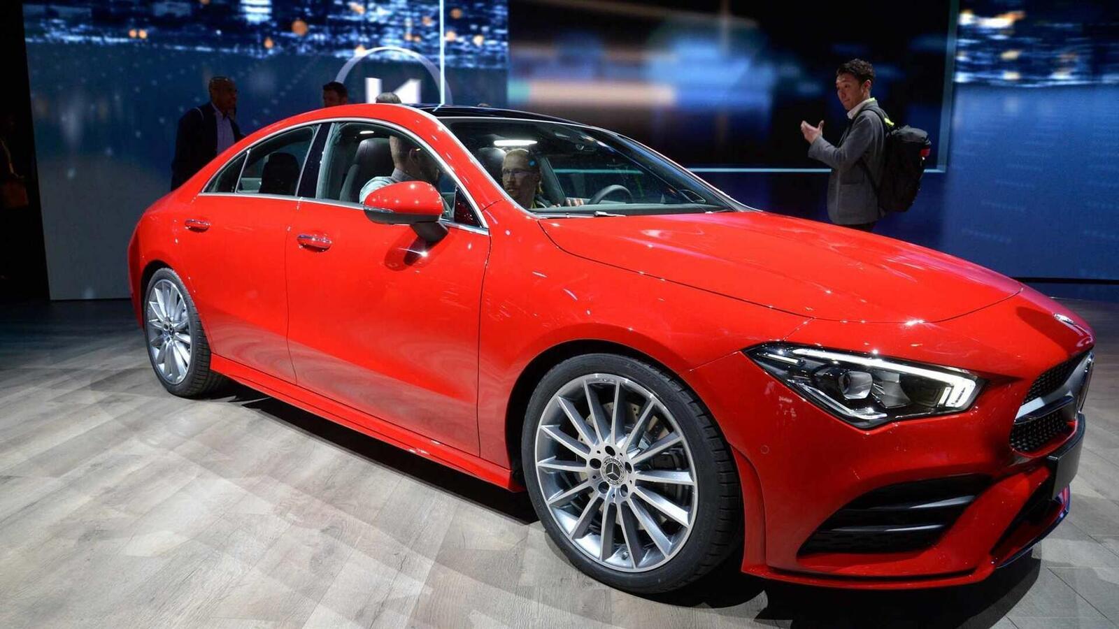 Ảnh thực tế Mercedes-Benz CLA 2020 thế hệ hoàn toàn mới tại Mỹ - Hình 26