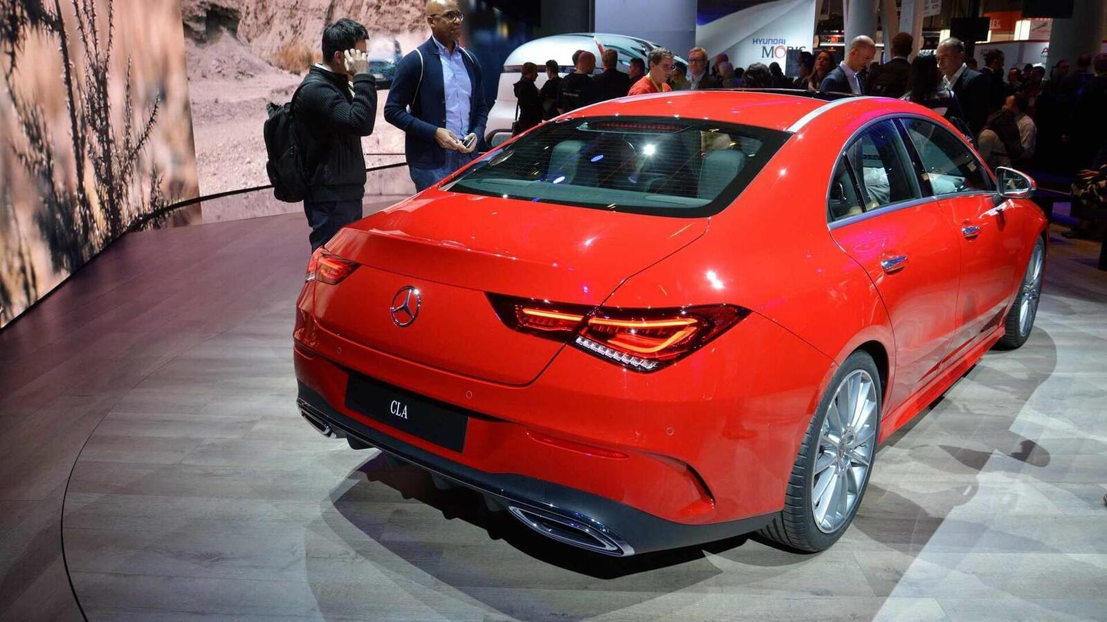 Ảnh thực tế Mercedes-Benz CLA 2020 thế hệ hoàn toàn mới tại Mỹ - Hình 27