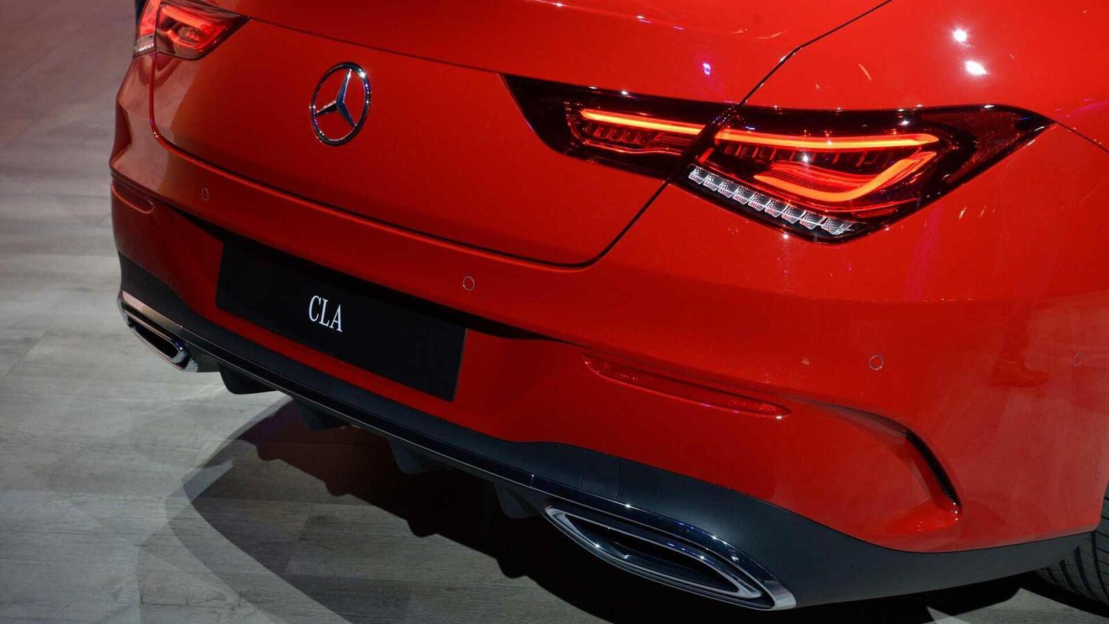 Ảnh thực tế Mercedes-Benz CLA 2020 thế hệ hoàn toàn mới tại Mỹ - Hình 28