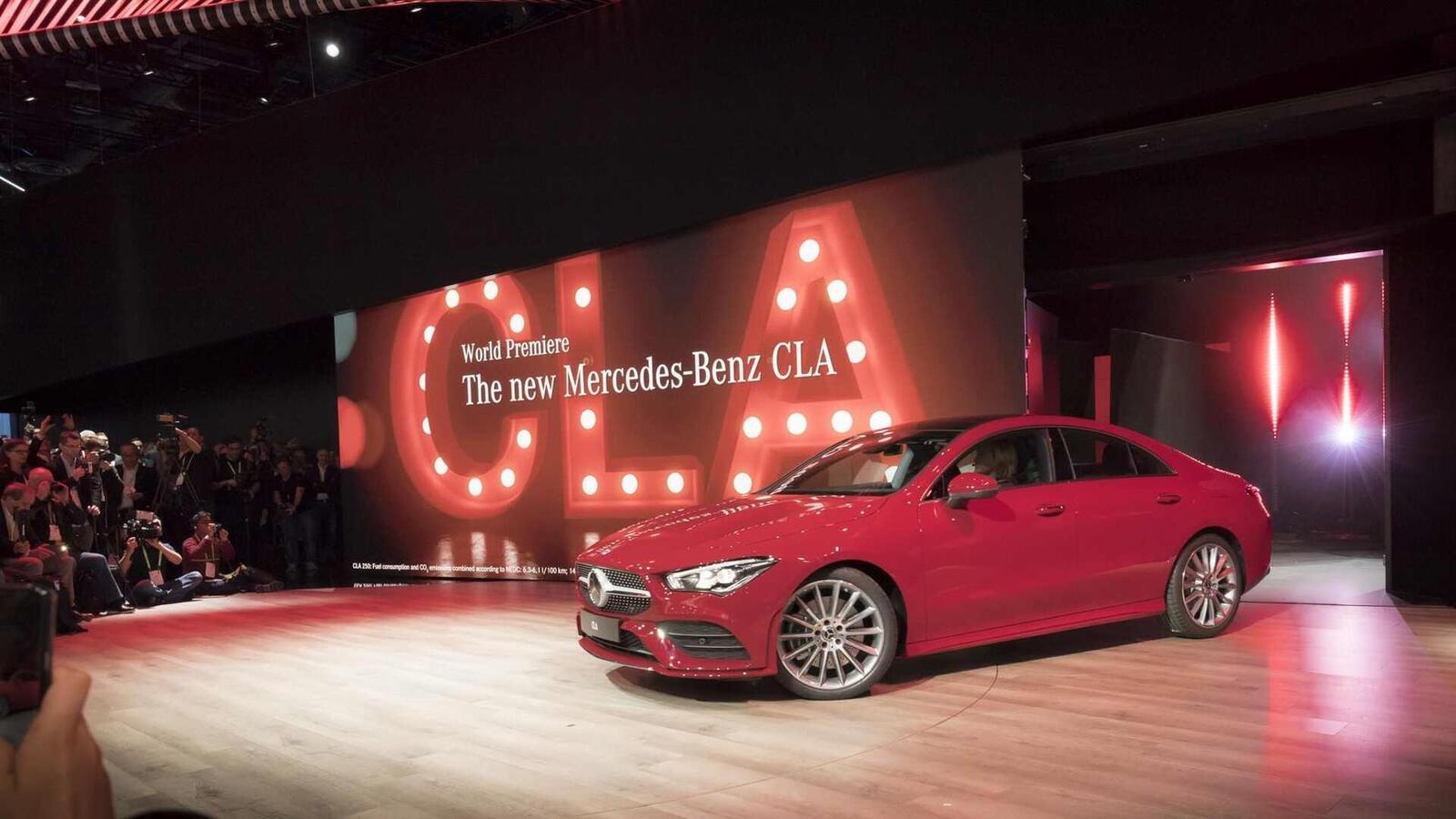 Ảnh thực tế Mercedes-Benz CLA 2020 thế hệ hoàn toàn mới tại Mỹ - Hình 30
