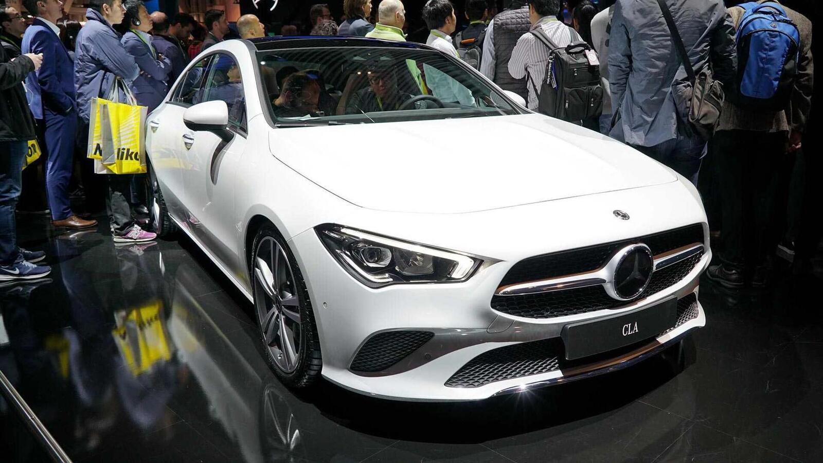 Ảnh thực tế Mercedes-Benz CLA 2020 thế hệ hoàn toàn mới tại Mỹ - Hình 5
