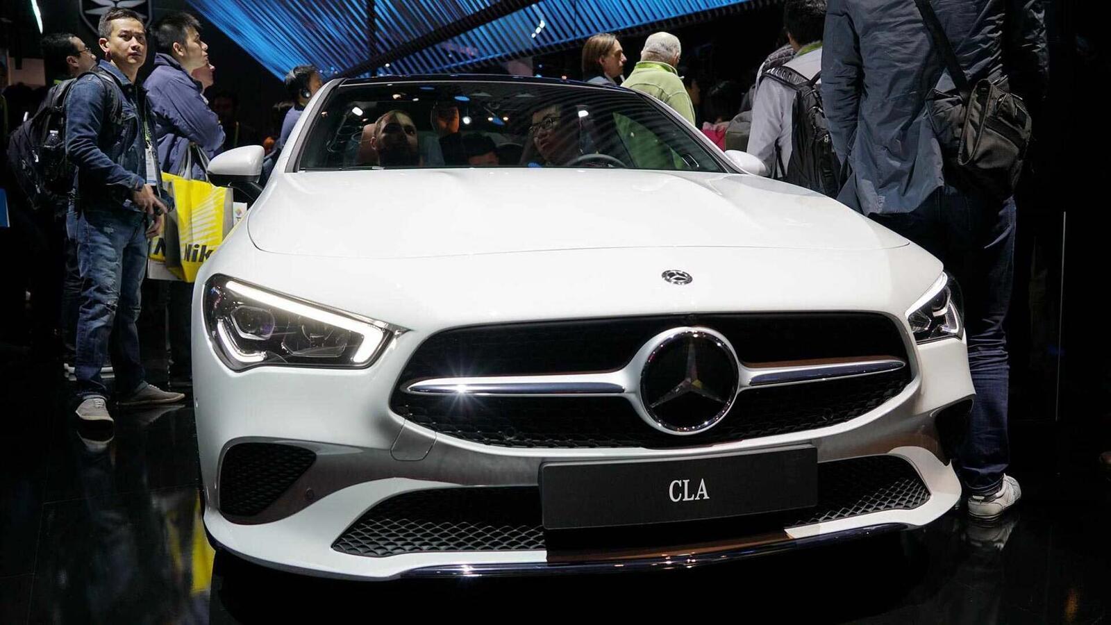 Ảnh thực tế Mercedes-Benz CLA 2020 thế hệ hoàn toàn mới tại Mỹ - Hình 6