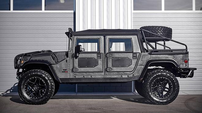 Ảnh xe quân sự Hummer H1 hầm hố và mạnh mẽ - Hình 1
