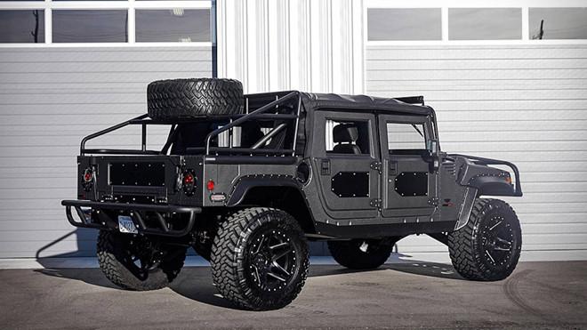 Ảnh xe quân sự Hummer H1 hầm hố và mạnh mẽ - Hình 2