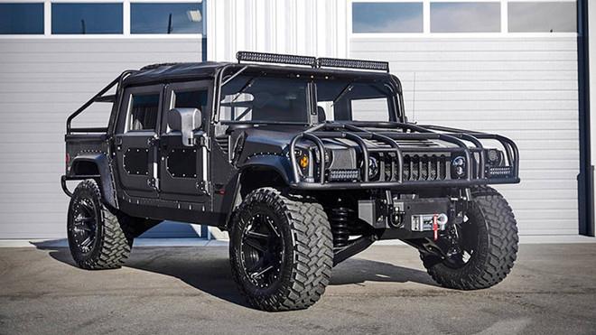 Ảnh xe quân sự Hummer H1 hầm hố và mạnh mẽ - Hình 4