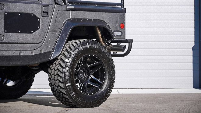 Ảnh xe quân sự Hummer H1 hầm hố và mạnh mẽ - Hình 5
