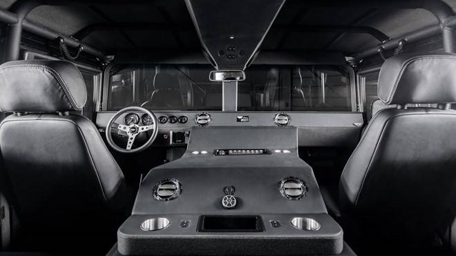 Ảnh xe quân sự Hummer H1 hầm hố và mạnh mẽ - Hình 6