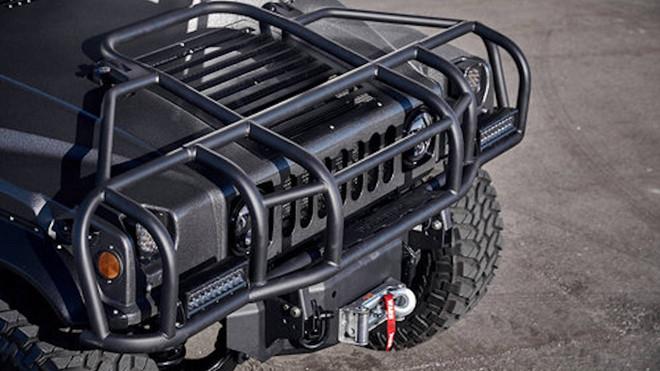 Ảnh xe quân sự Hummer H1 hầm hố và mạnh mẽ - Hình 8
