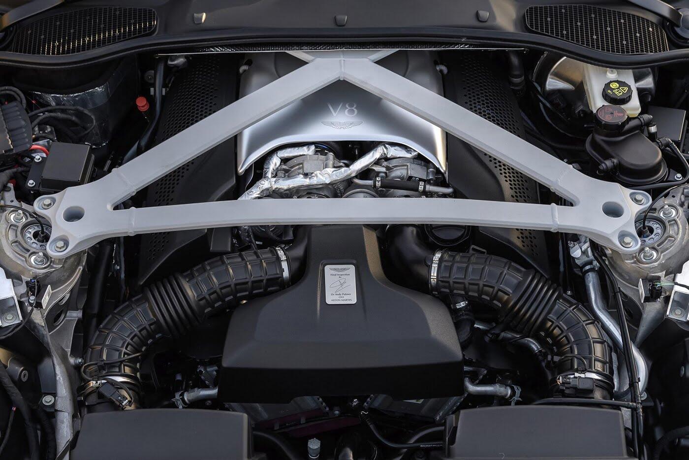 Aston Martin DB11 có thêm phiên bản động cơ tăng áp kép V8 - Hình 7