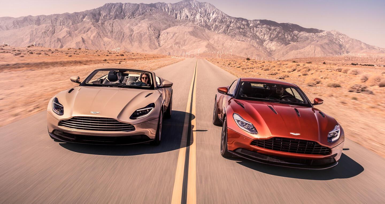 Aston Martin DB11 Volante trình làng với phong cách gợi cảm - Hình 1
