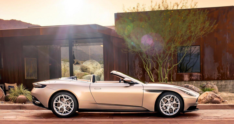 Aston Martin DB11 Volante trình làng với phong cách gợi cảm - Hình 2