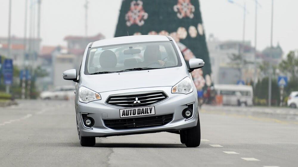 Attrage – Mẫu sedan lôi cuốn trọn vẹn của Mitsubishi - Hình 1