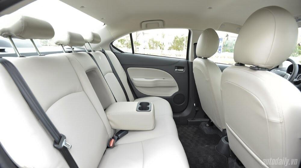Attrage – Mẫu sedan lôi cuốn trọn vẹn của Mitsubishi - Hình 15