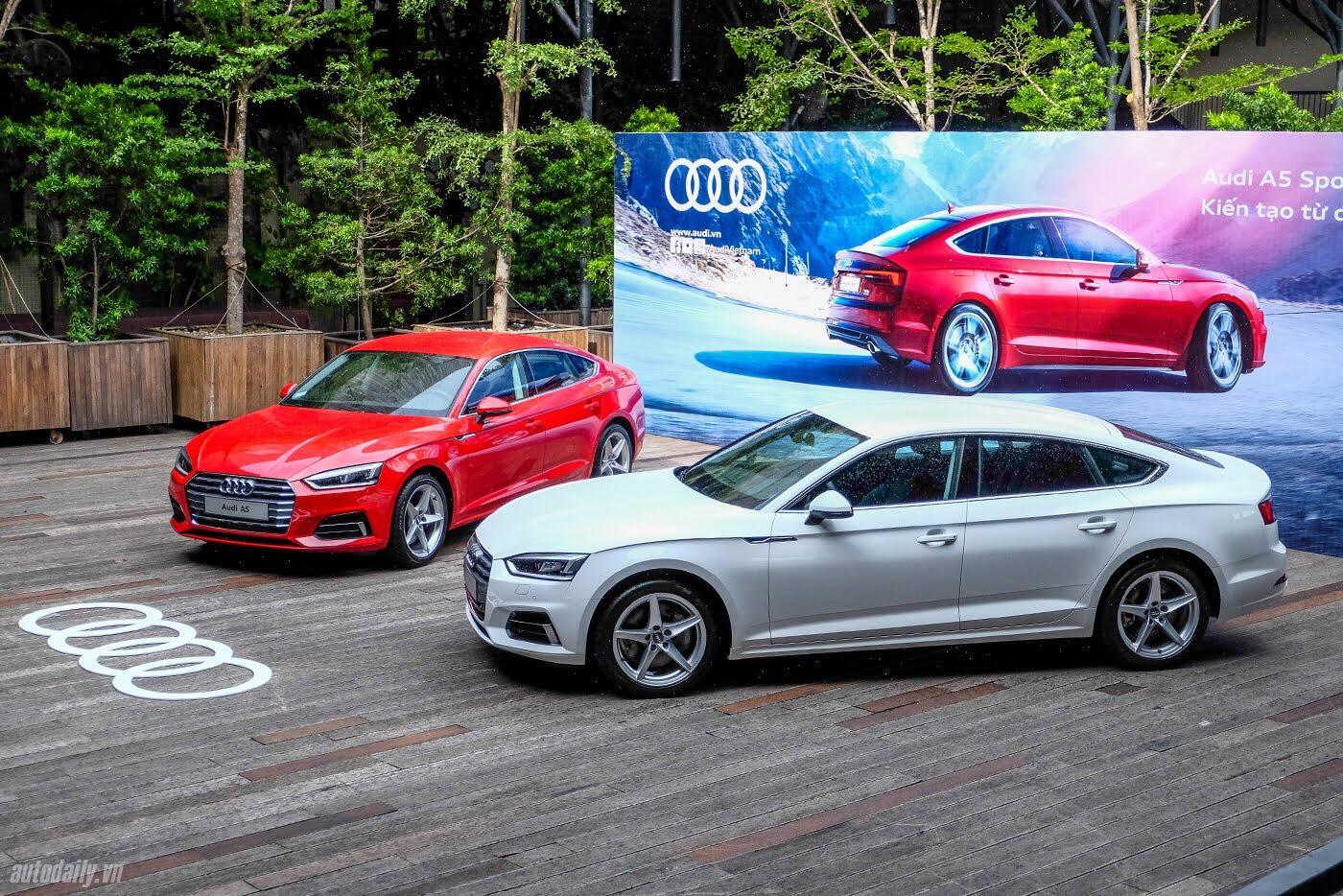 Audi A5 Sportback 2017 chính thức ra mắt tại Việt Nam - Hình 1