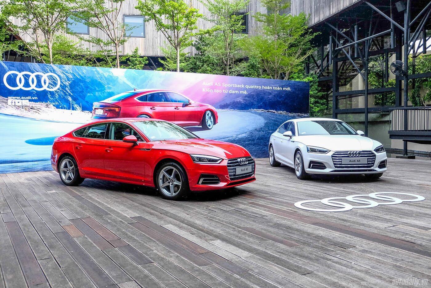 Audi A5 Sportback 2017 chính thức ra mắt tại Việt Nam - Hình 2