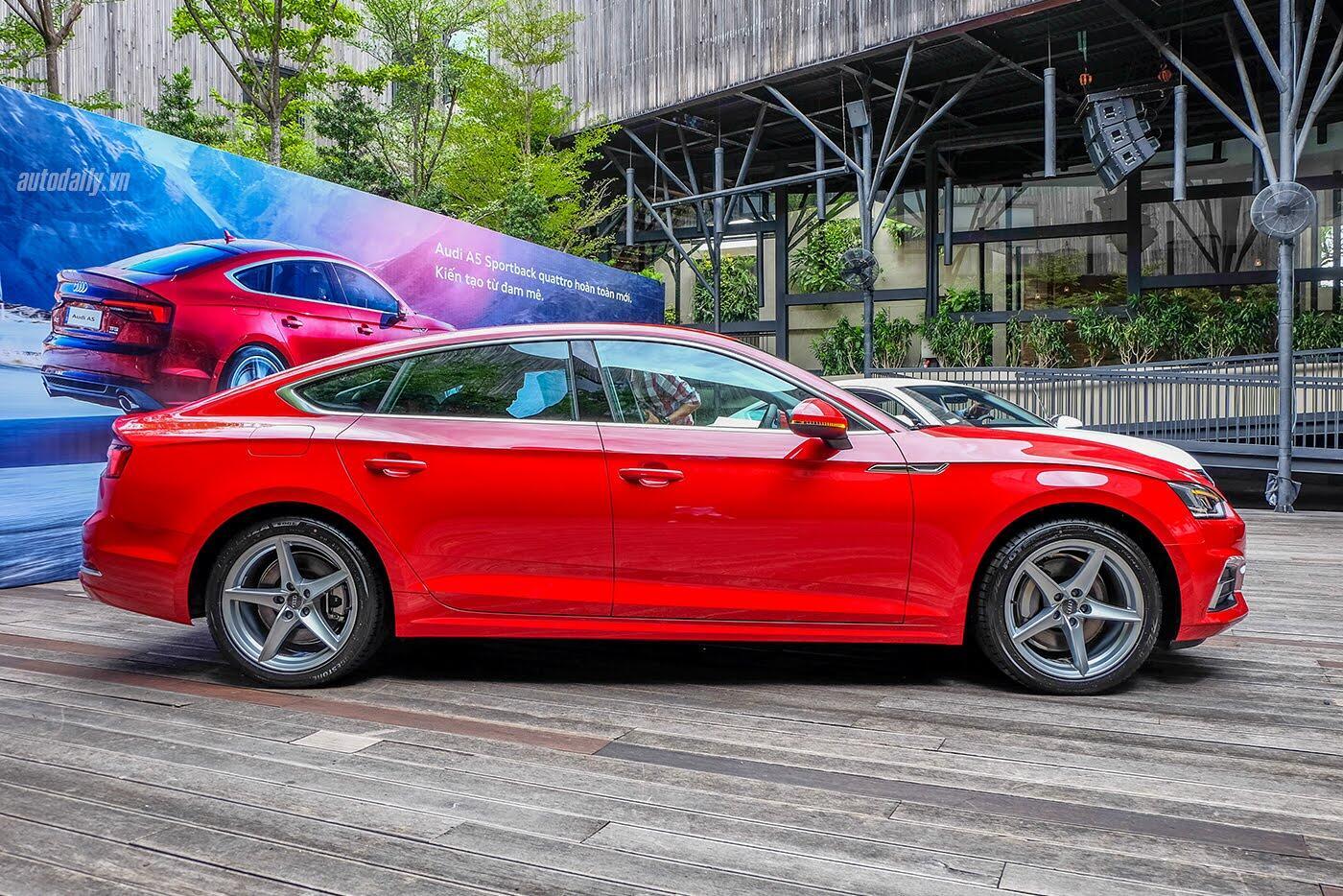 Audi A5 Sportback 2017 chính thức ra mắt tại Việt Nam - Hình 3
