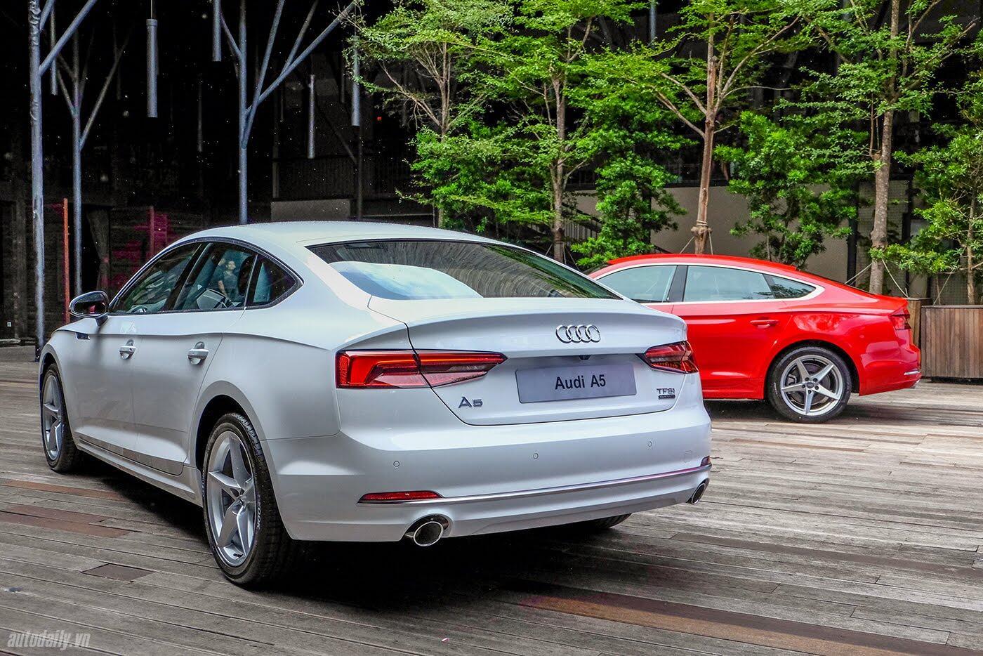 Audi A5 Sportback 2017 chính thức ra mắt tại Việt Nam - Hình 4