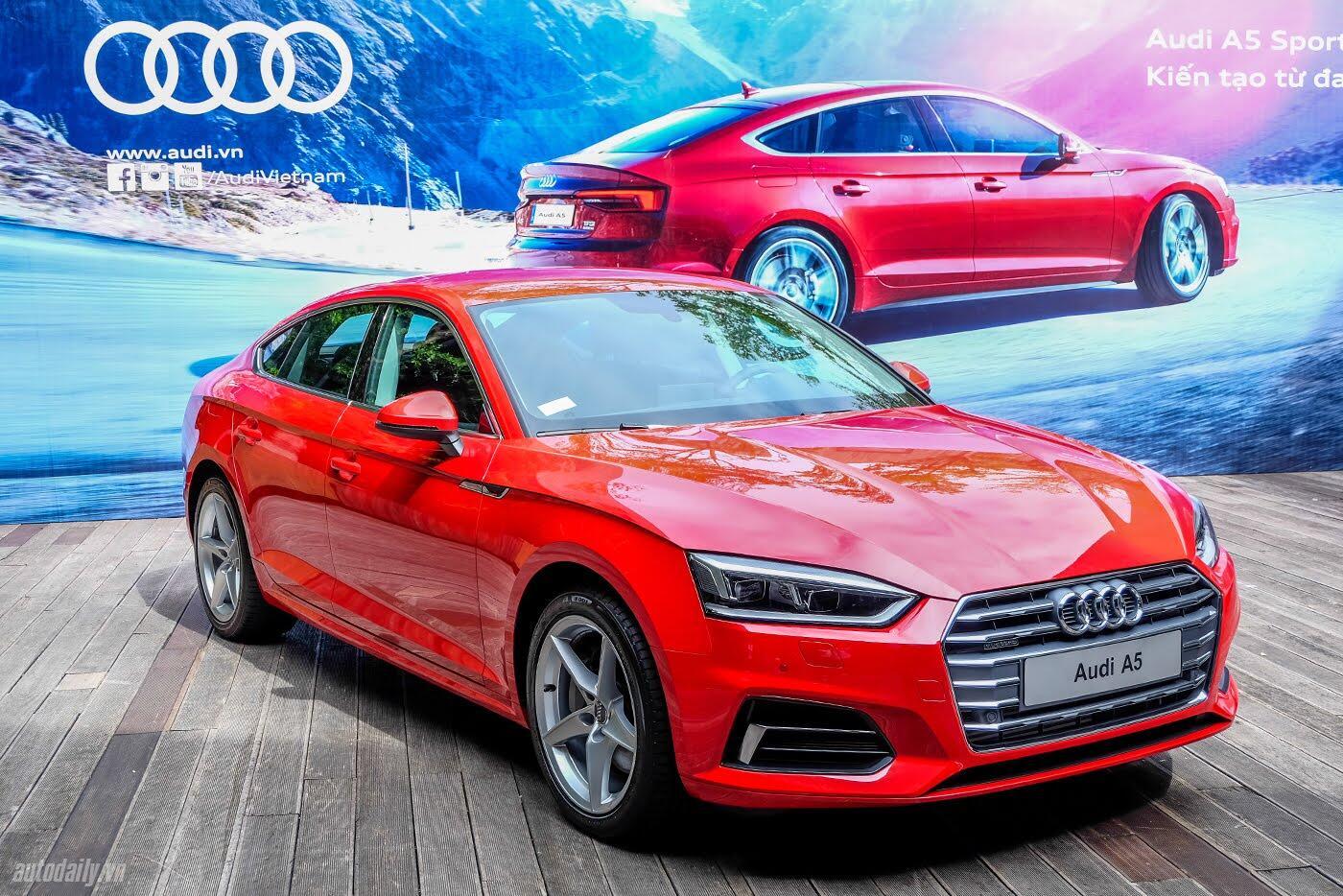 Audi A5 Sportback 2017 chính thức ra mắt tại Việt Nam - Hình 5