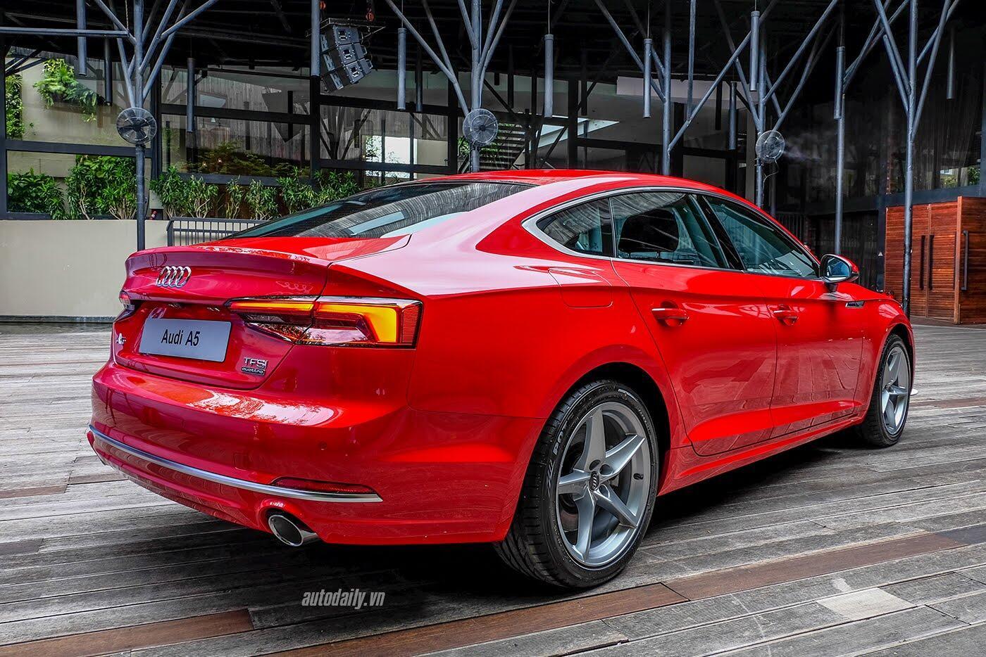 Audi A5 Sportback 2017 chính thức ra mắt tại Việt Nam - Hình 7