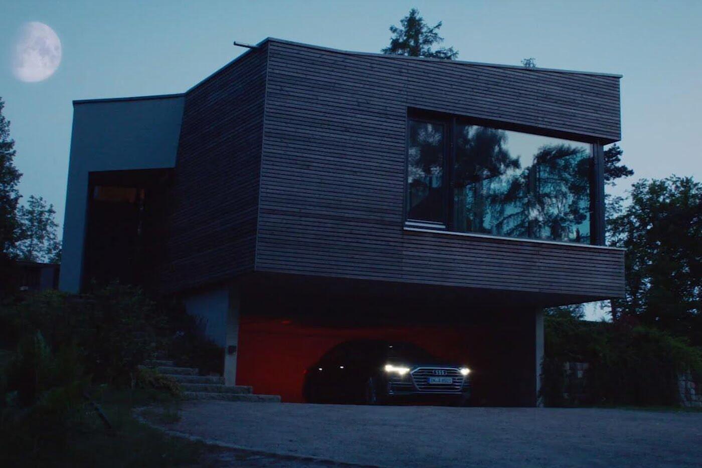 """Audi A8 2018 """"nhá hàng"""" trước ngày ra mắt - Hình 3"""