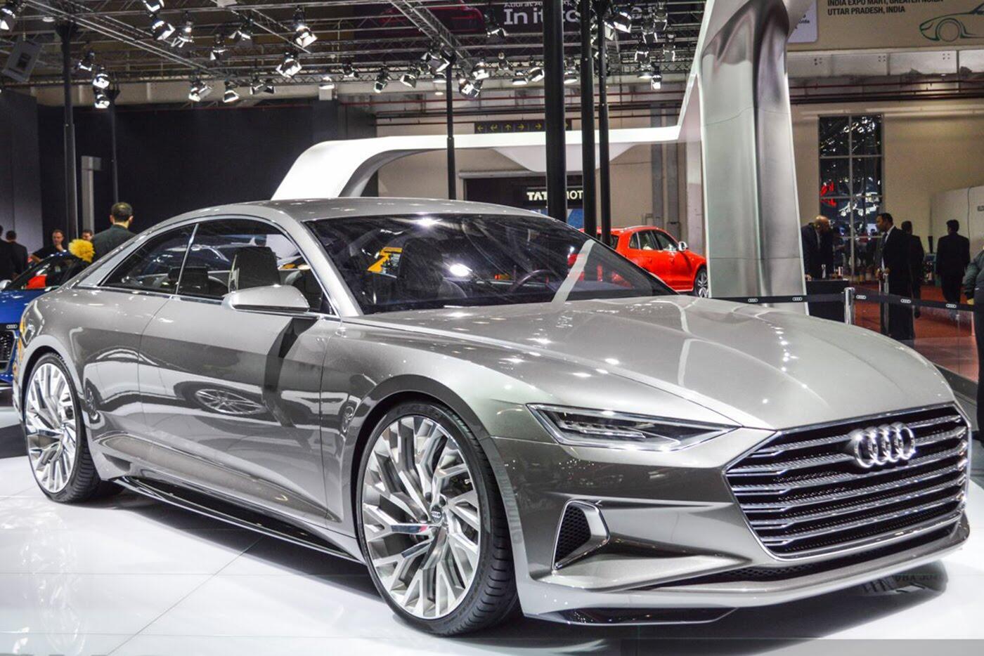 """Audi A8 2018 """"nhá hàng"""" trước ngày ra mắt - Hình 6"""