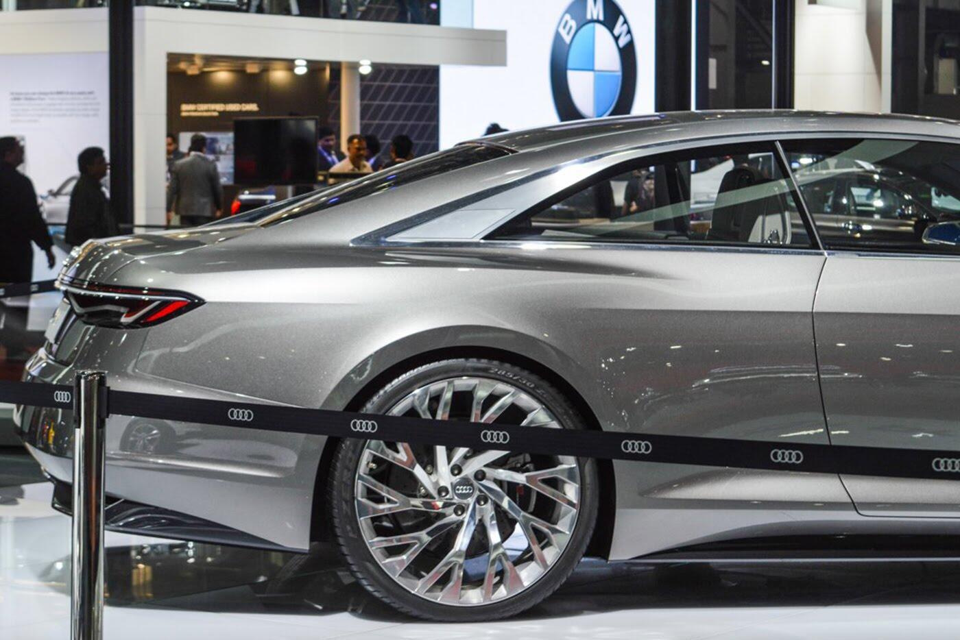 """Audi A8 2018 """"nhá hàng"""" trước ngày ra mắt - Hình 8"""