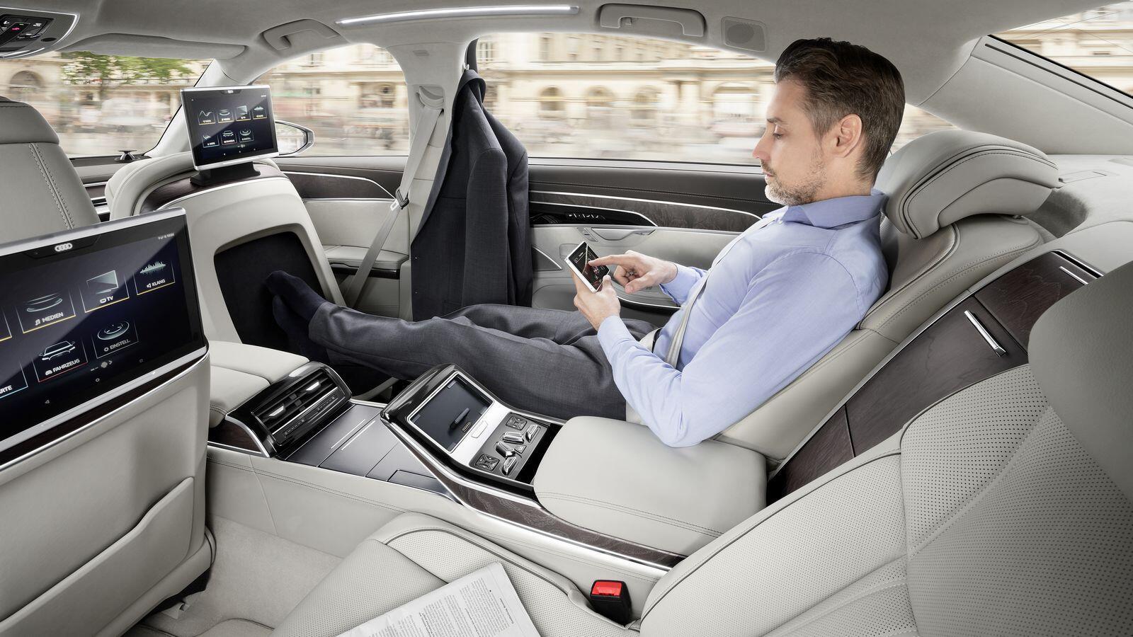 Audi A8 hoàn toàn mới chính thức ra mắt với đầy ắp công nghệ - Hình 7