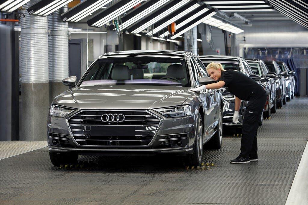 Audi A8 hoàn toàn mới chính thức ra mắt với đầy ắp công nghệ - Hình 16
