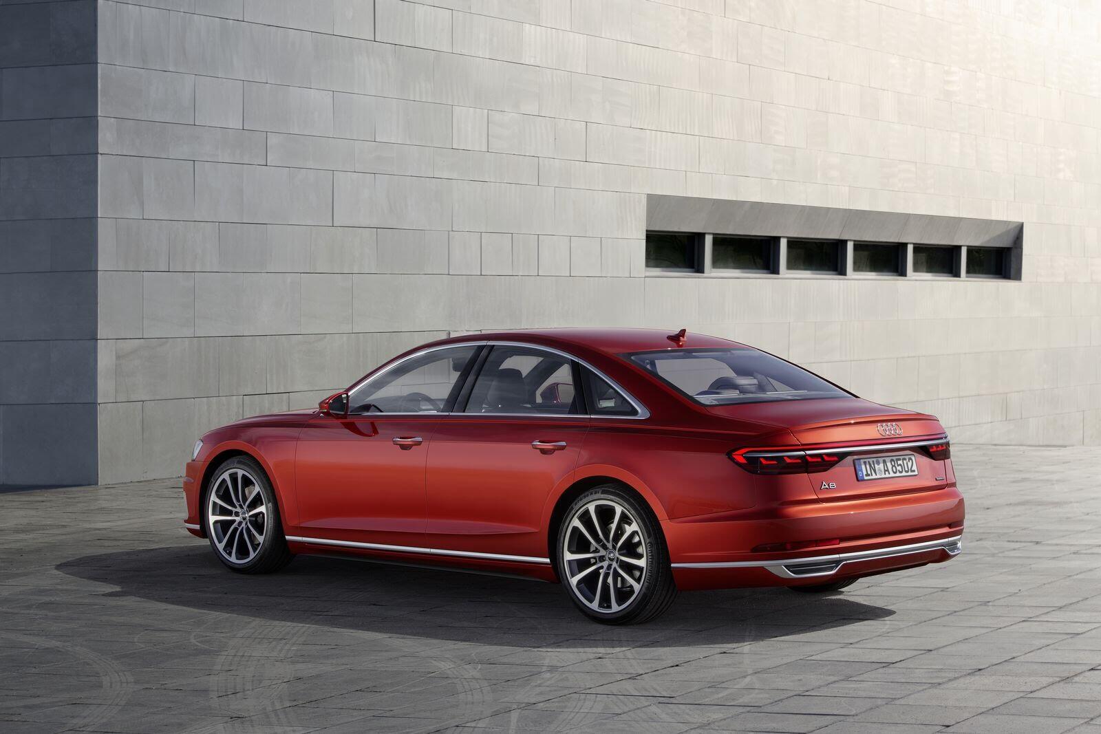 Audi A8 hoàn toàn mới chính thức ra mắt với đầy ắp công nghệ - Hình 22
