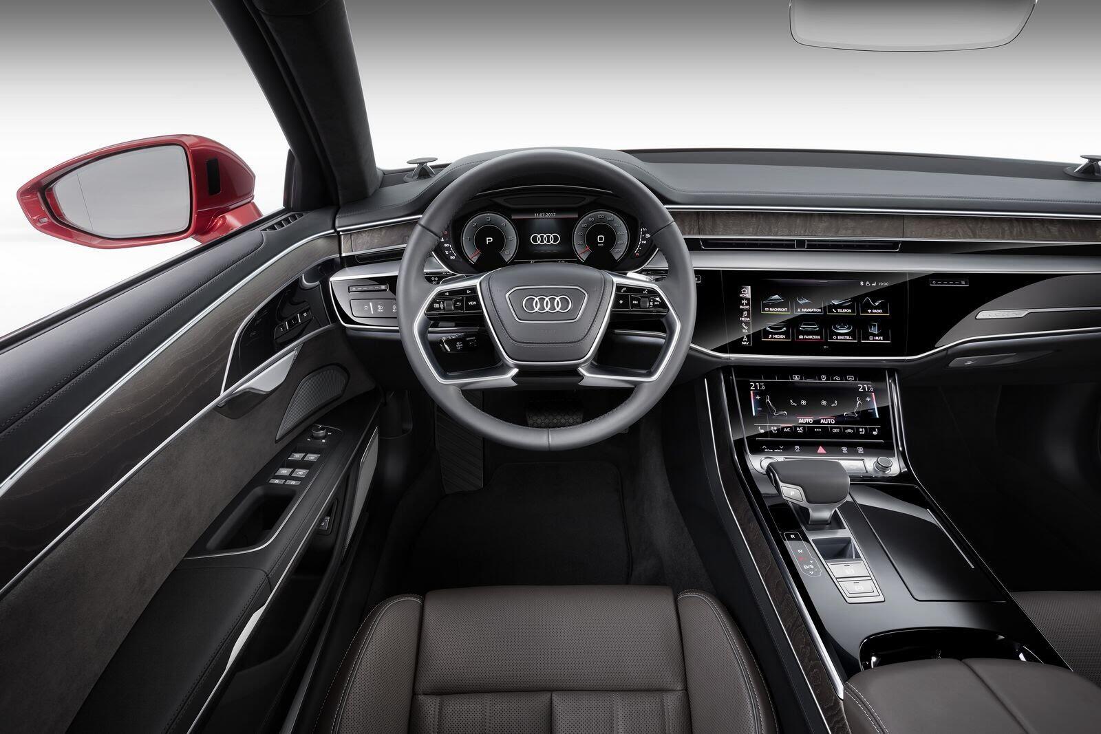 Audi A8 hoàn toàn mới chính thức ra mắt với đầy ắp công nghệ - Hình 29