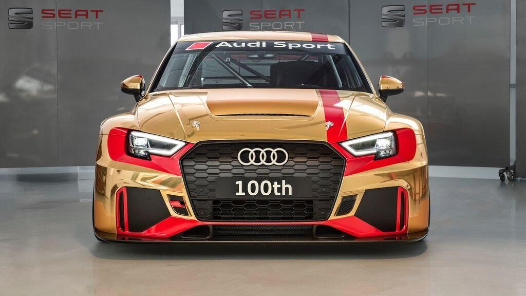 Audi gây bất ngờ với RS3 LMS thứ 100 vàng Gold - Hình 1
