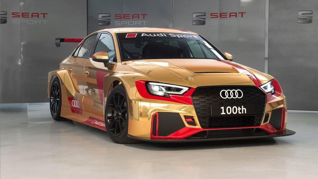 Audi gây bất ngờ với RS3 LMS thứ 100 vàng Gold - Hình 2