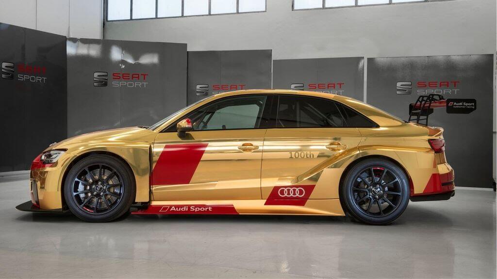 Audi gây bất ngờ với RS3 LMS thứ 100 vàng Gold - Hình 5