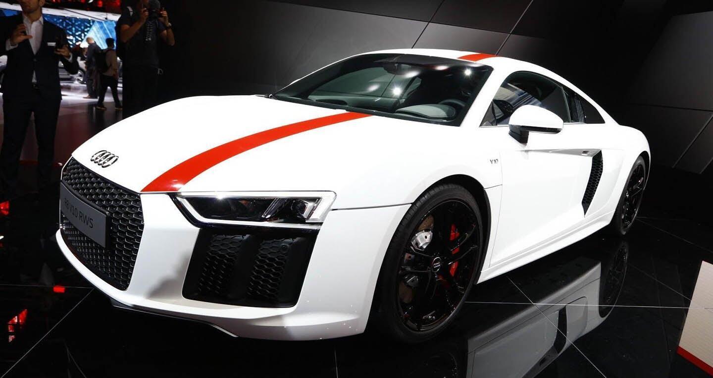 """Audi giới thiệu """"hàng hiếm"""" R8 V10 RWS - Hình 1"""