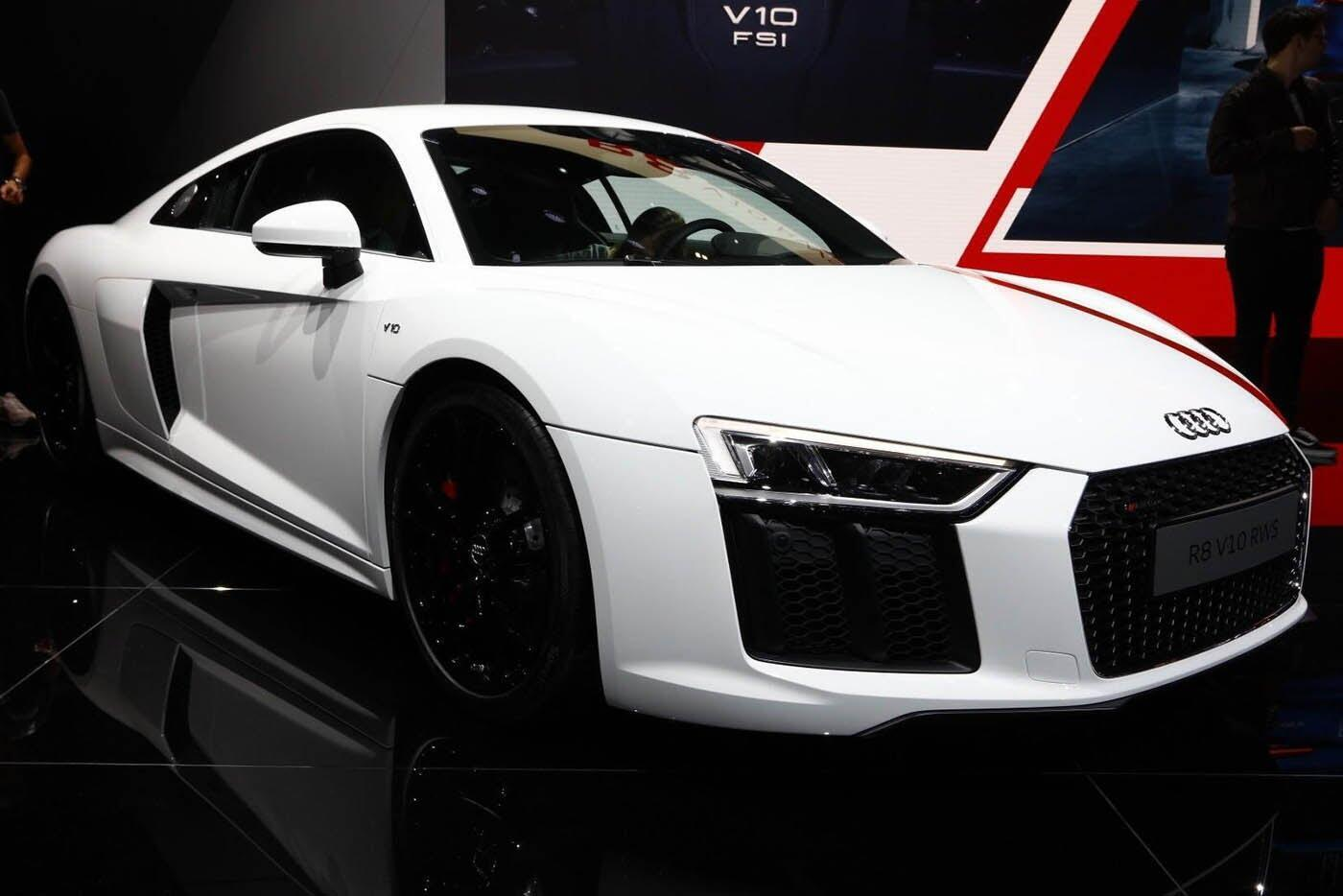 """Audi giới thiệu """"hàng hiếm"""" R8 V10 RWS - Hình 2"""