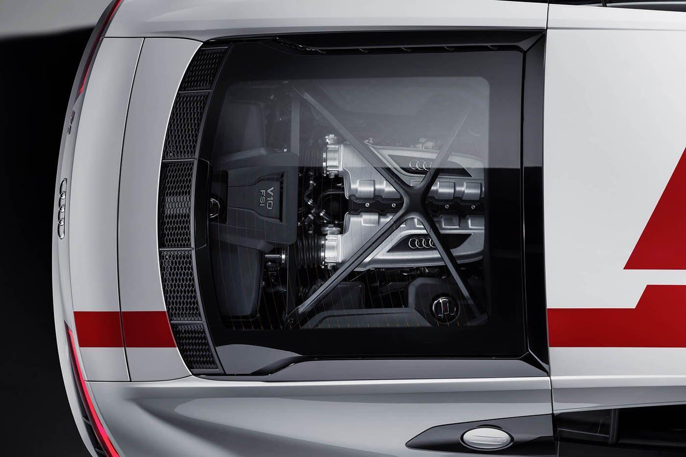 """Audi giới thiệu """"hàng hiếm"""" R8 V10 RWS - Hình 3"""