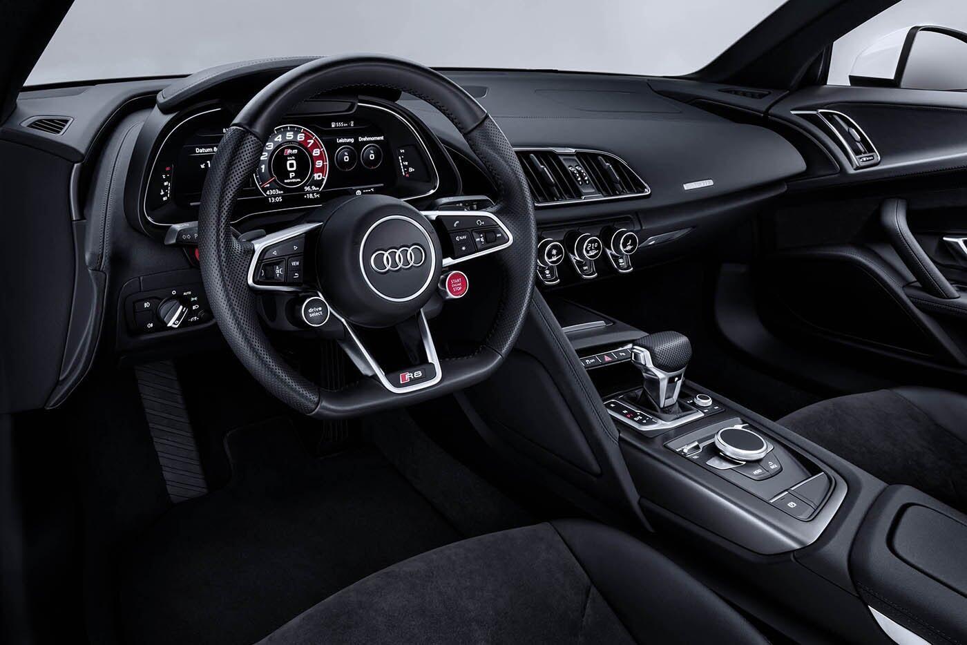 """Audi giới thiệu """"hàng hiếm"""" R8 V10 RWS - Hình 16"""