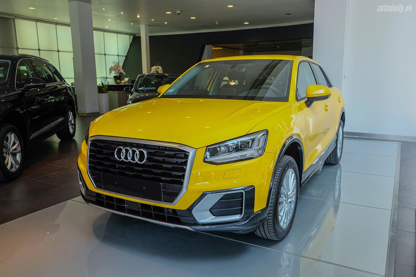 Audi Q2 đã có mặt tại showroom, sẵn sàng bán tới tay người dùng - Hình 1