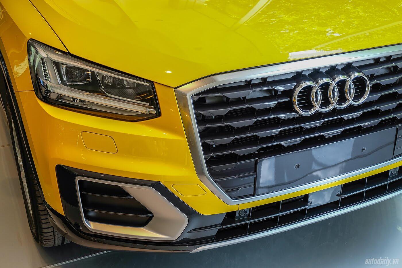 Audi Q2 đã có mặt tại showroom, sẵn sàng bán tới tay người dùng - Hình 3