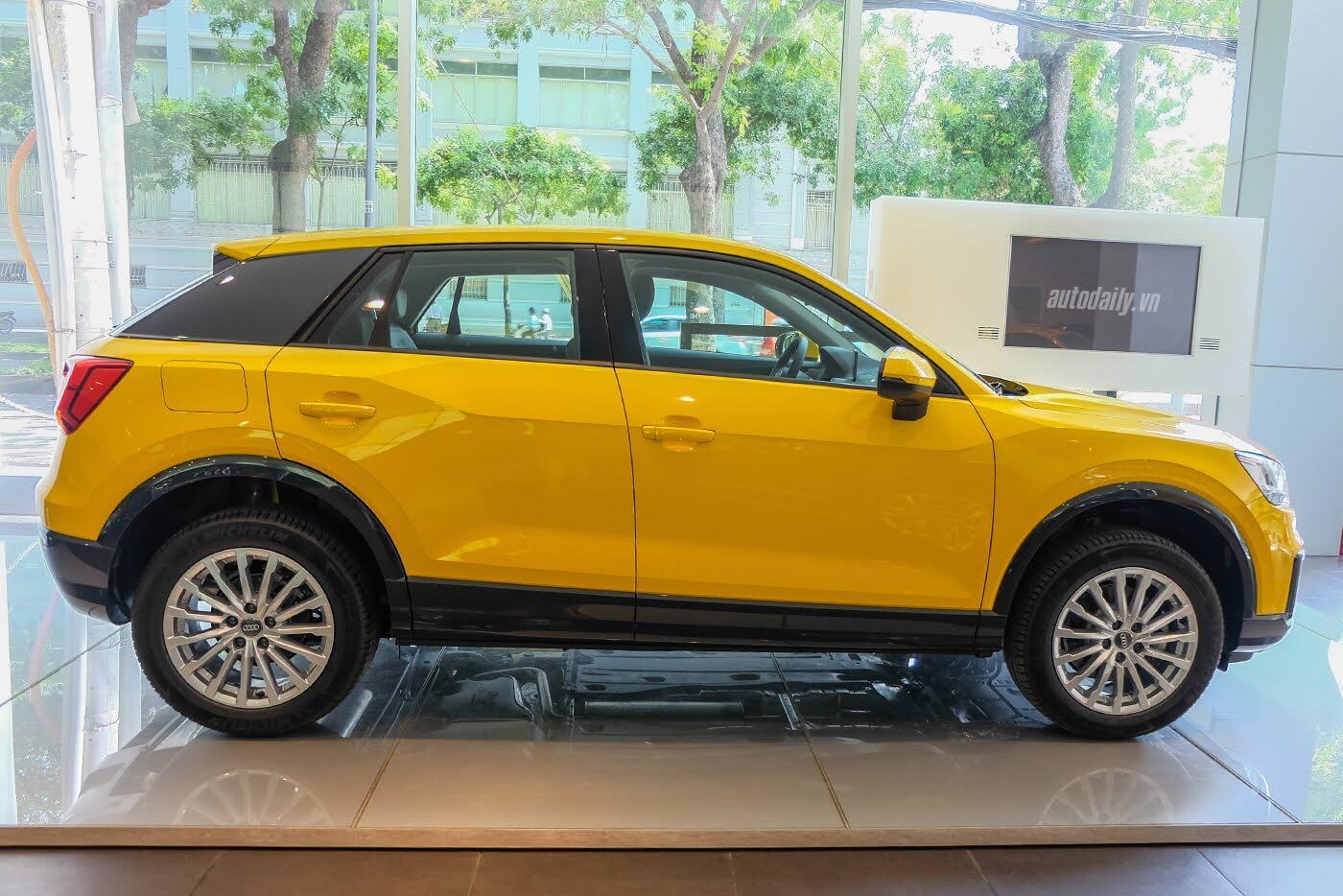 Audi Q2 đã có mặt tại showroom, sẵn sàng bán tới tay người dùng - Hình 4