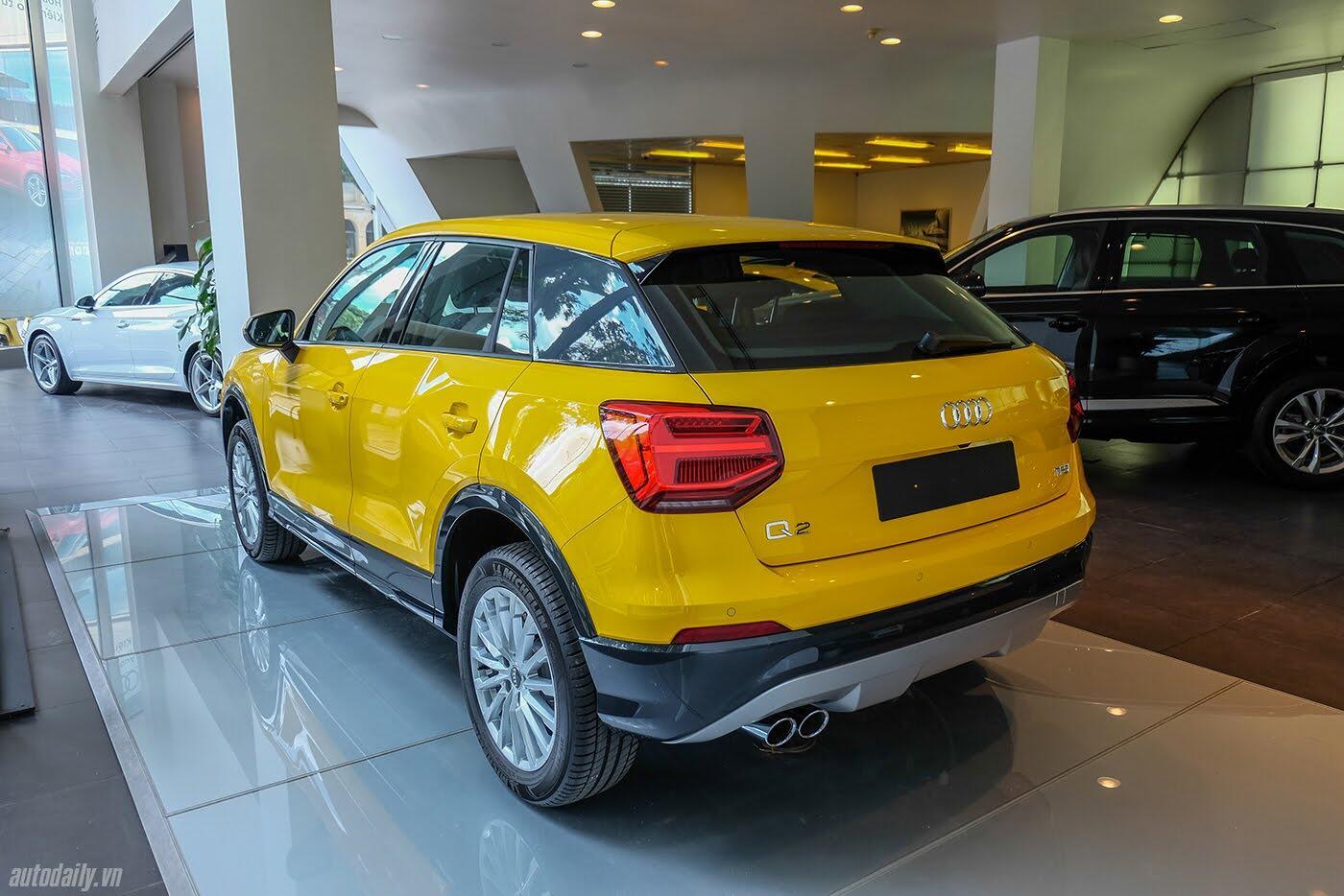 Audi Q2 đã có mặt tại showroom, sẵn sàng bán tới tay người dùng - Hình 6