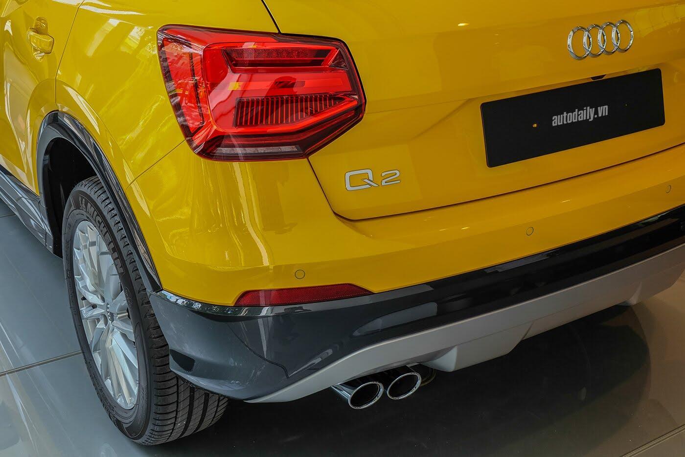 Audi Q2 đã có mặt tại showroom, sẵn sàng bán tới tay người dùng - Hình 7