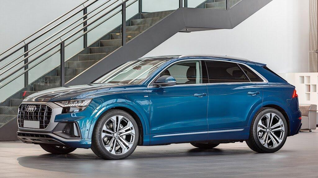 Audi Q8 tuyệt đẹp trong màu xanh ngọc bích - Hình 1
