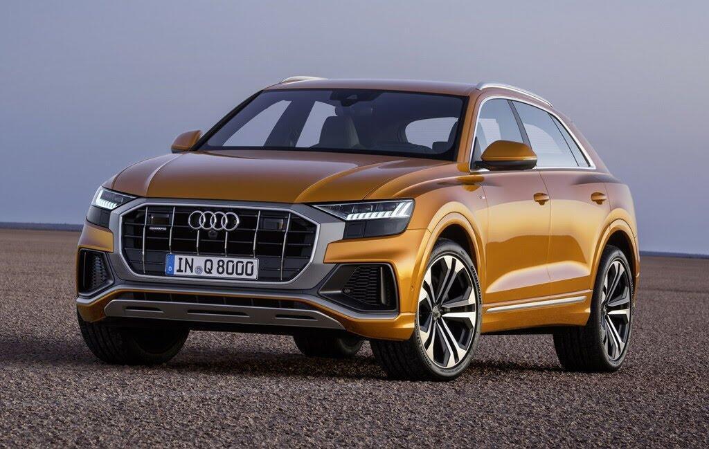 Audi Q8 tuyệt đẹp trong màu xanh ngọc bích - Hình 3