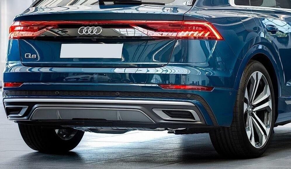 Audi Q8 tuyệt đẹp trong màu xanh ngọc bích - Hình 5
