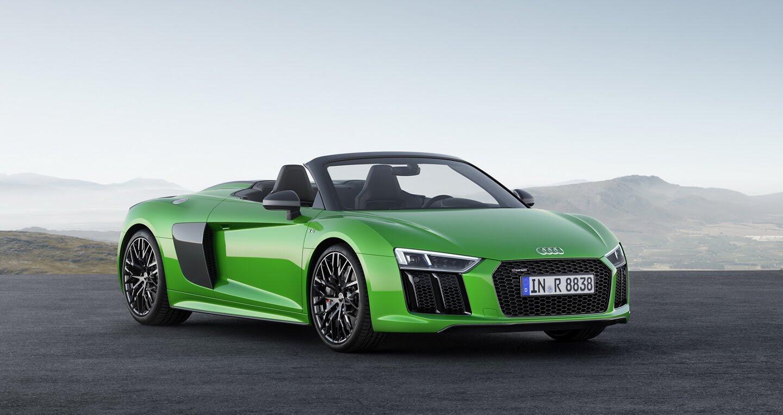 Audi R8 V10 Spyder Plus trình làng với sức mạnh 601 mã lực - Hình 1