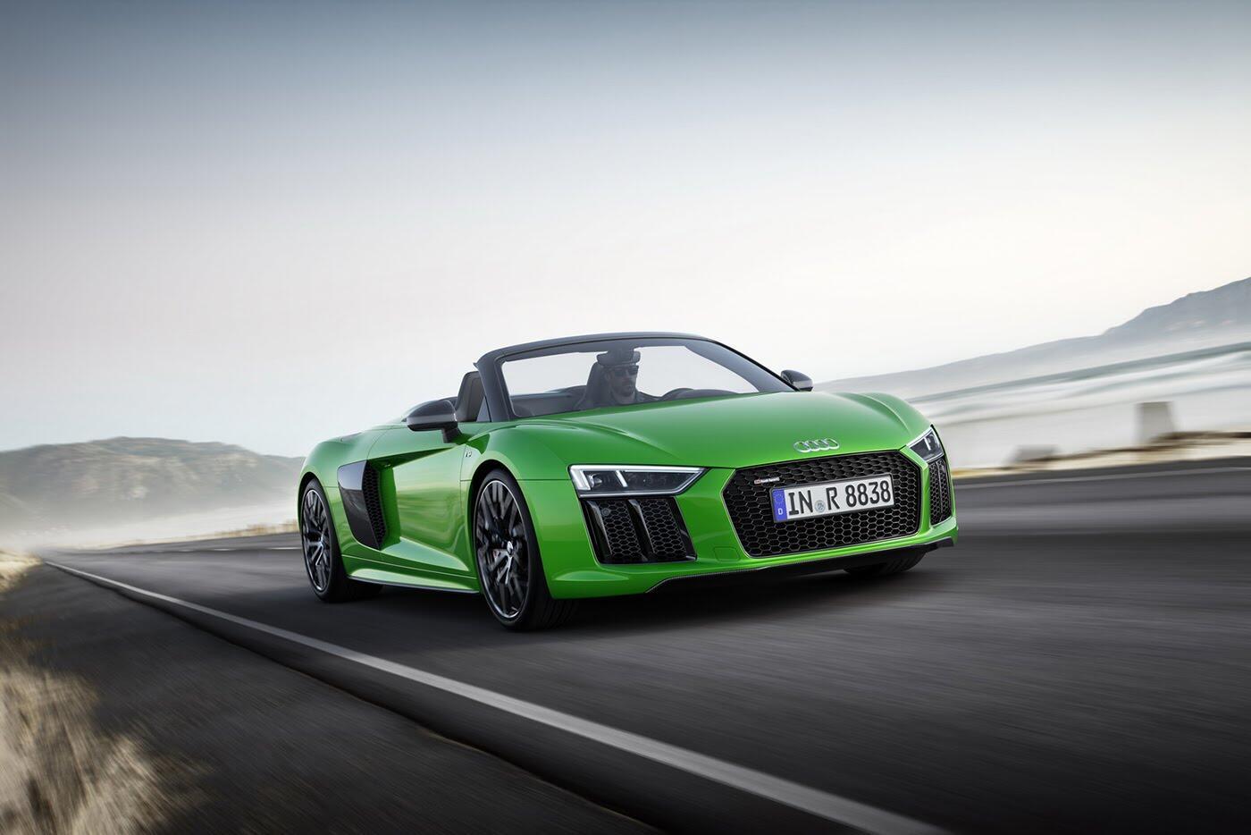 Audi R8 V10 Spyder Plus trình làng với sức mạnh 601 mã lực - Hình 2