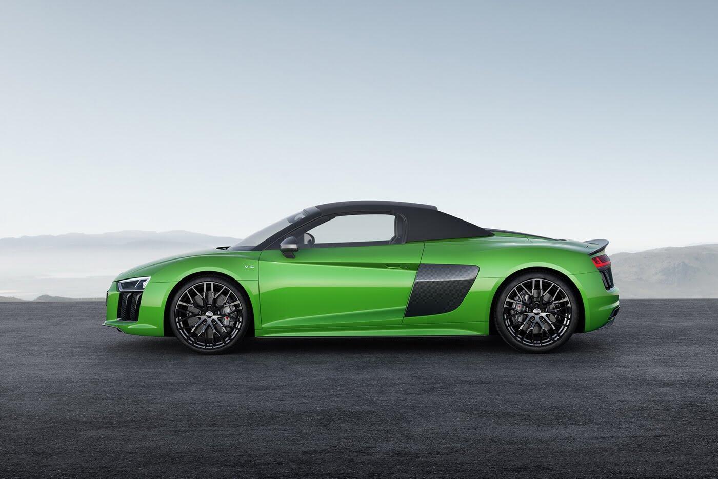 Audi R8 V10 Spyder Plus trình làng với sức mạnh 601 mã lực - Hình 3